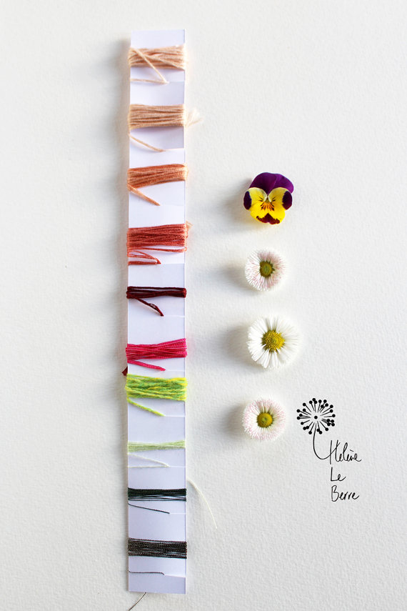 Helene Le Berre 刺しゅう Embroidery Kit GRÂCE - Embroidery Kit GRACE キット フランス 刺しゅう