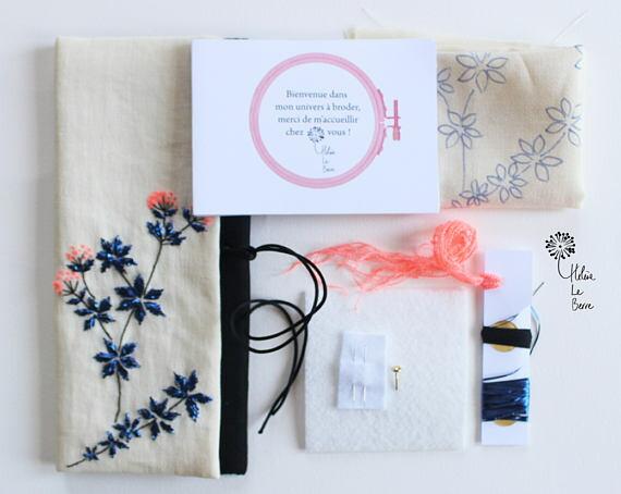 Helene Le Berre 刺しゅう Kit de Broderie ORIGAN - Embroidery kit OREGANO キット フランス 刺しゅう