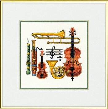 EVA ROSENSTAND ミュージック Musik クロスステッチ キット デンマーク 北欧 刺しゅう 12-947