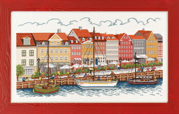 EVA ROSENSTAND ニューハウン Nyhavn クロスステッチ キット デンマーク 北欧 刺しゅう 14-226