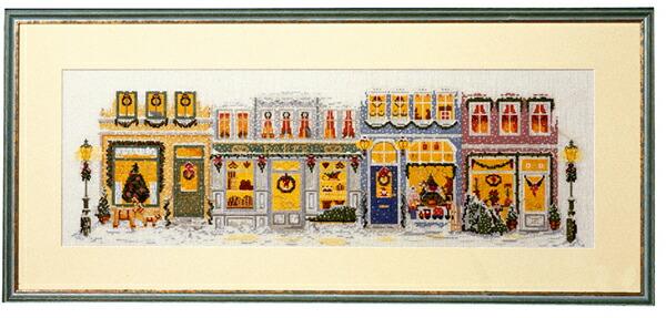 PERMIN クリスマス Julestemning ペルミン クロスステッチ キット デンマーク 北欧 刺しゅう 70-4225 クロスステッチ手芸雑貨シーボンヌ 専門店 通販サイト 販売
