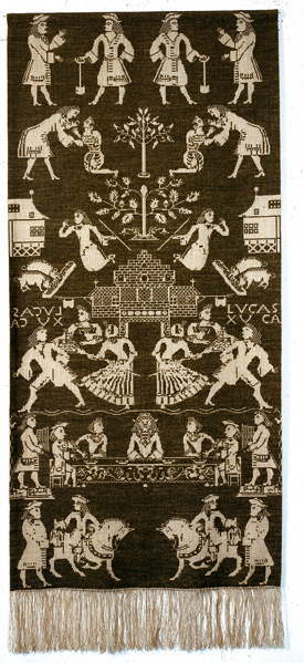 Permin of Copenhagen(ルミン) 【Beidewand blue】  刺繍キット 輸入 上級者 北欧 デンマーク 90-1013  クロスステッチ手芸雑貨シーボンヌ