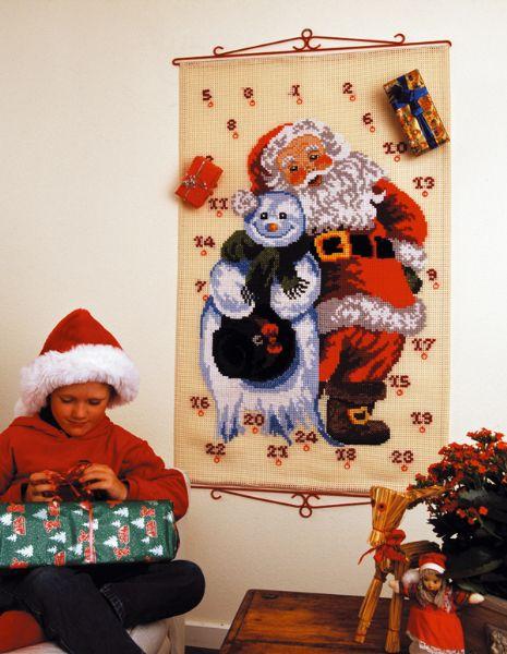 PERMIN マキシ・カレンダー Maxi-kalender ペルミン クロスステッチ キット デンマーク 北欧 刺しゅう 34-0295