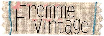 Fremme中古図案Vintage