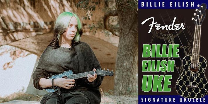 Billie Eilish UKE