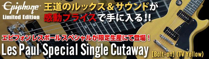 LP Spl Single Cutaway BoltOn