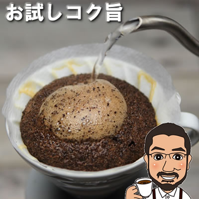 【送料無料】お試しコーヒー コク旨