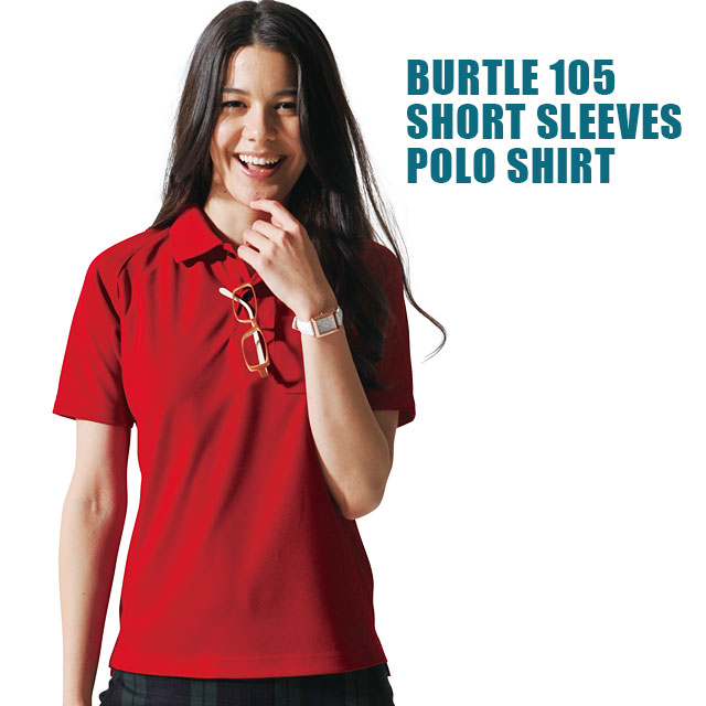 burtle105半袖ポロ