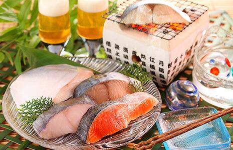 夏の海鮮樽詰