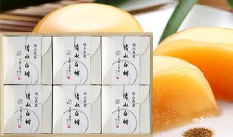 清水白桃ゼリー(6個入)木箱