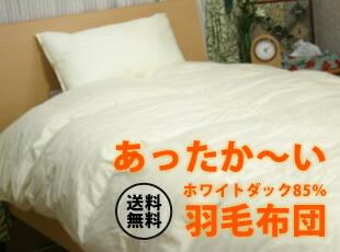 お買い得!【東京西川】ダック85%1枚もの羽毛布団