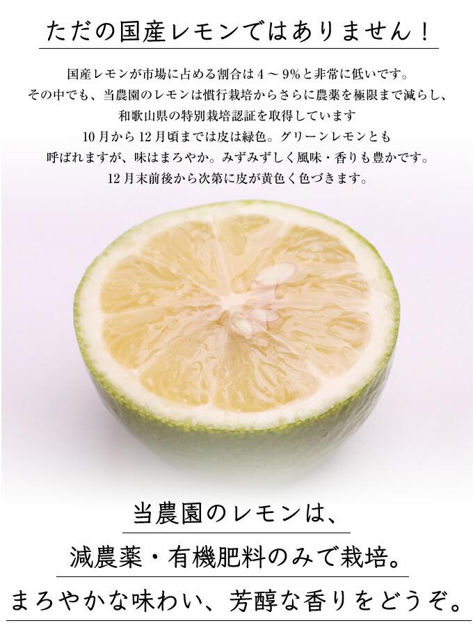 国産レモンは何が違う?