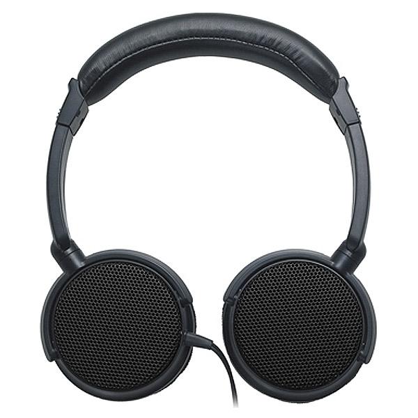 audio-technica オーディオテクニカ ATH-EP700 BK 島村楽器限定カラー オールブラック オープンエア型 モニターヘッドホン 画像