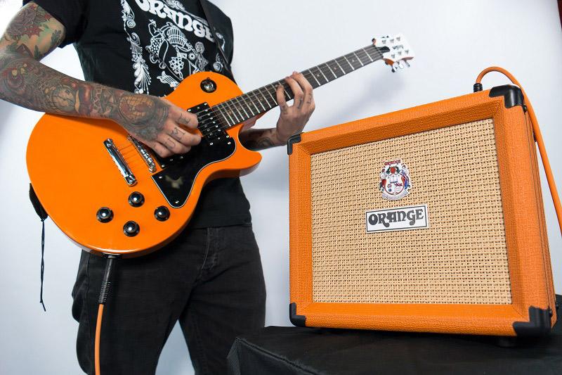 オレンジギターパック エレキギター初心者セット詳細画像