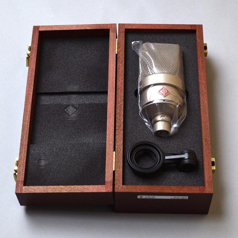 ノイマン コンデンサーマイク TLM103 Nickel NEUMANN 画像