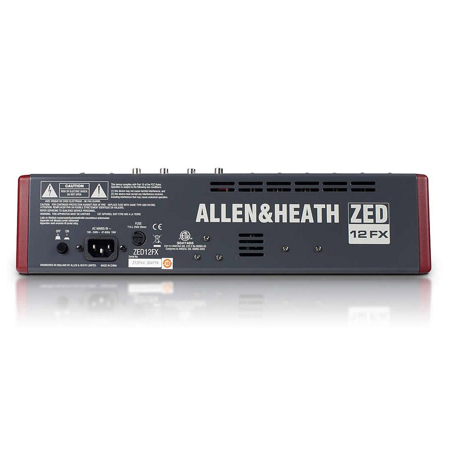 アレン&ヒース ミキサー ZED-12FX Allen & Heath ZED12FX 画像