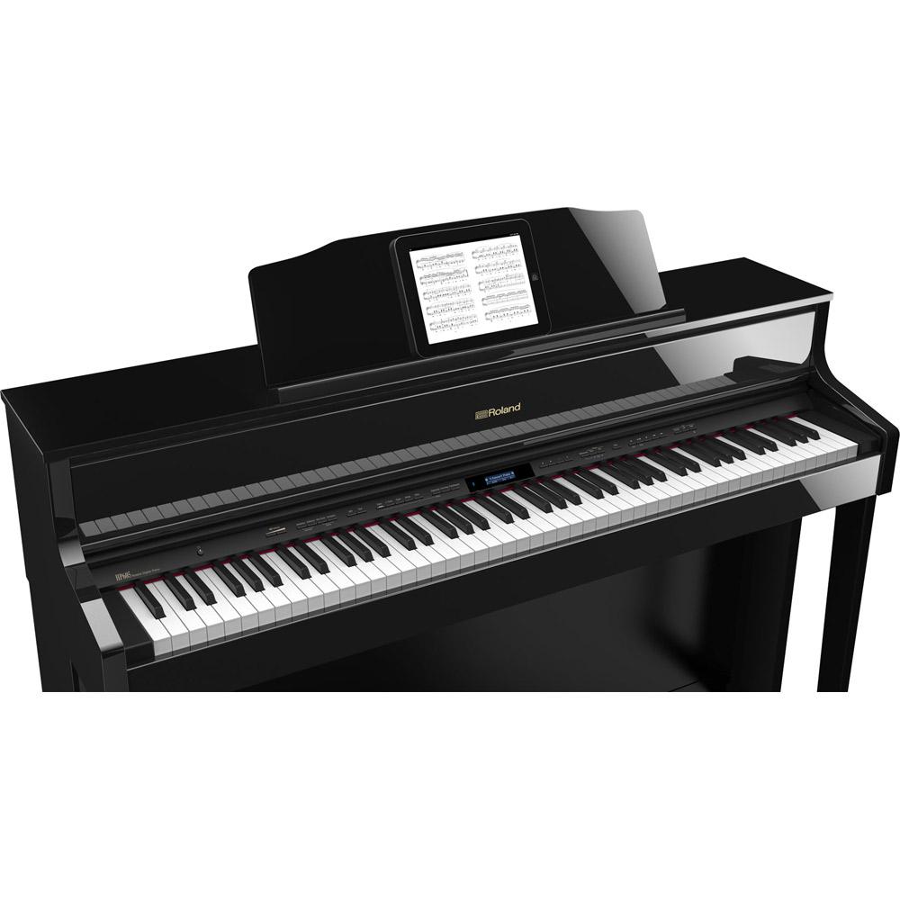 HP605PES電子楽譜使用イメージ