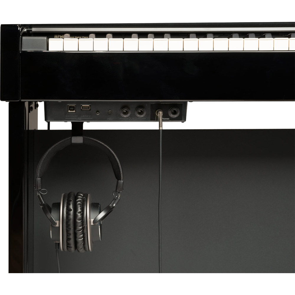 HP605PESヘッドホン、フック画像