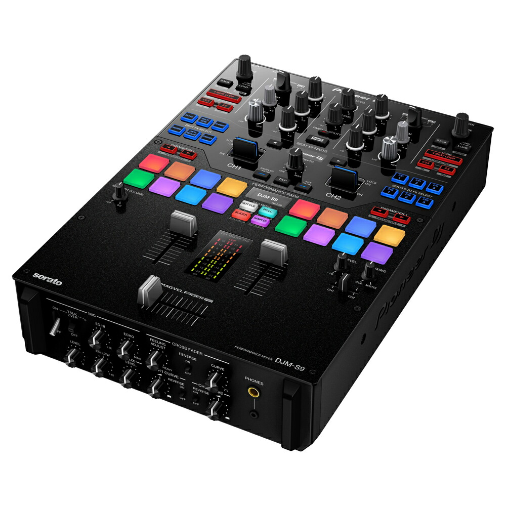 パイオニア Serato DJ 対応 DJミキサー DJM-S9 Pioneer 画像一