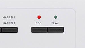 録音ボタン拡大イメージ