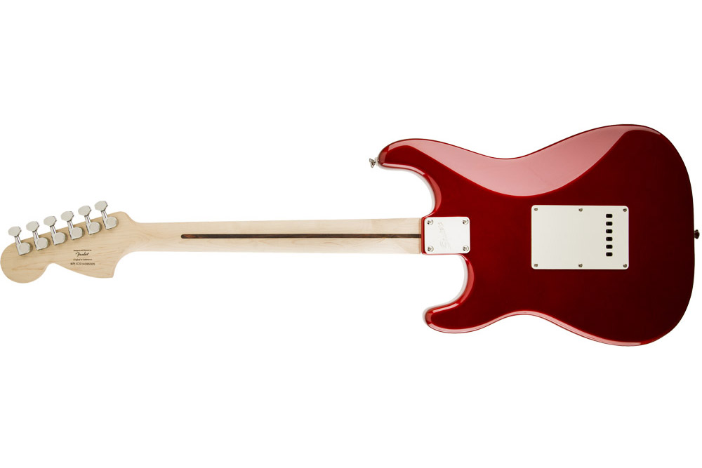 Squier Standard Stratocaster ボディ裏
