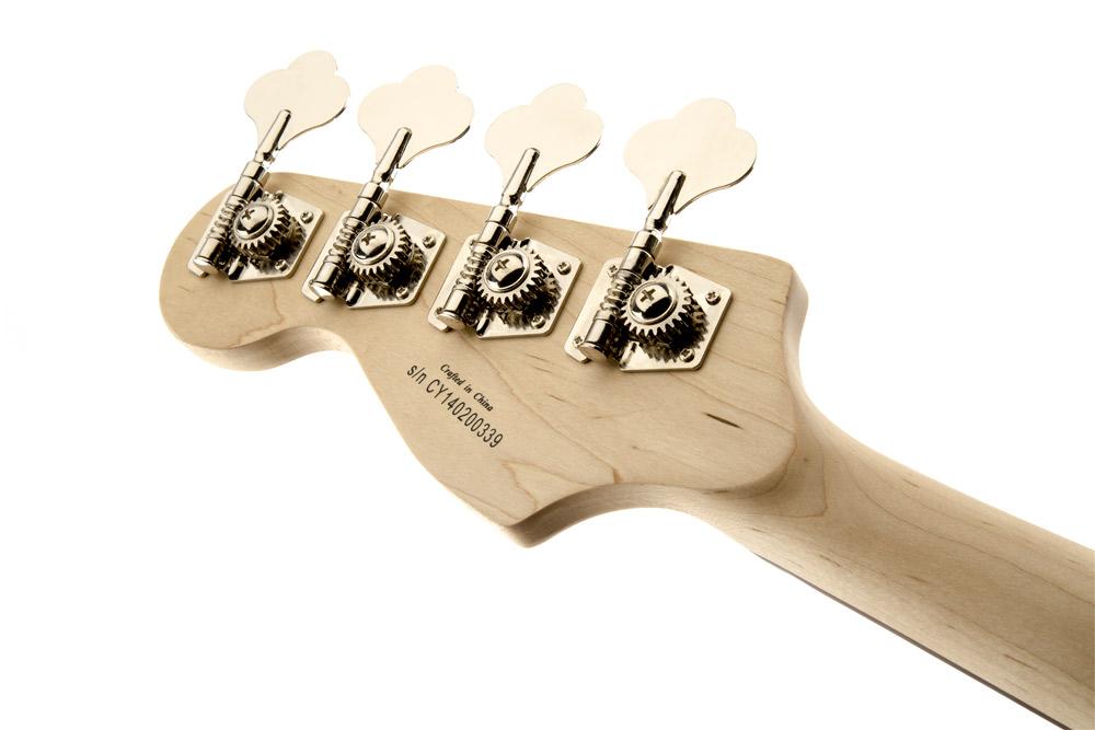 Affinity Jazz Bass ヘッド裏