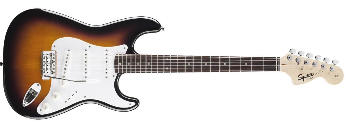 Affinity Series Stratocaster 全体
