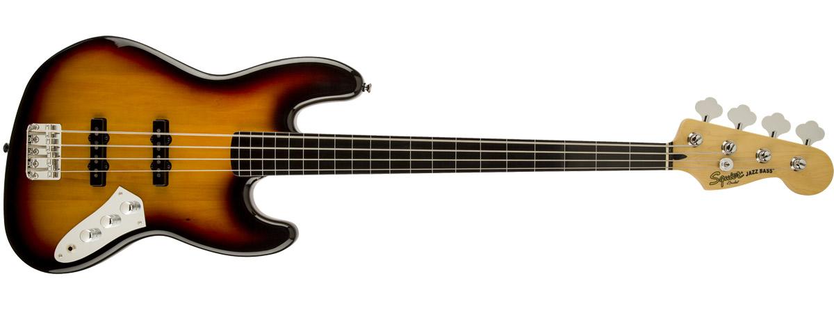 Vintage Modified Jazz Bass Fretless 全体