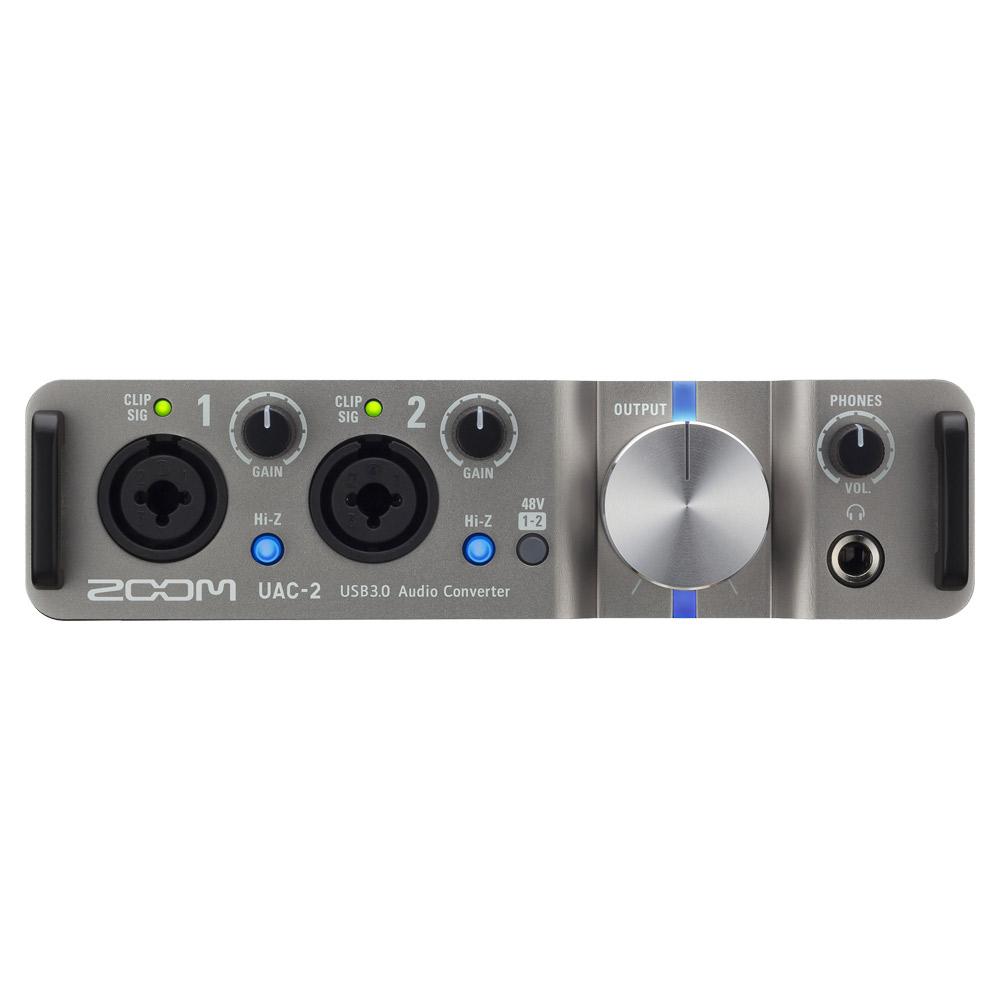 ZOOM UAC-2 USB 3.0 オーディオインターフェイス 【ズーム UAC2】 【梅田ロフト店】 画像一