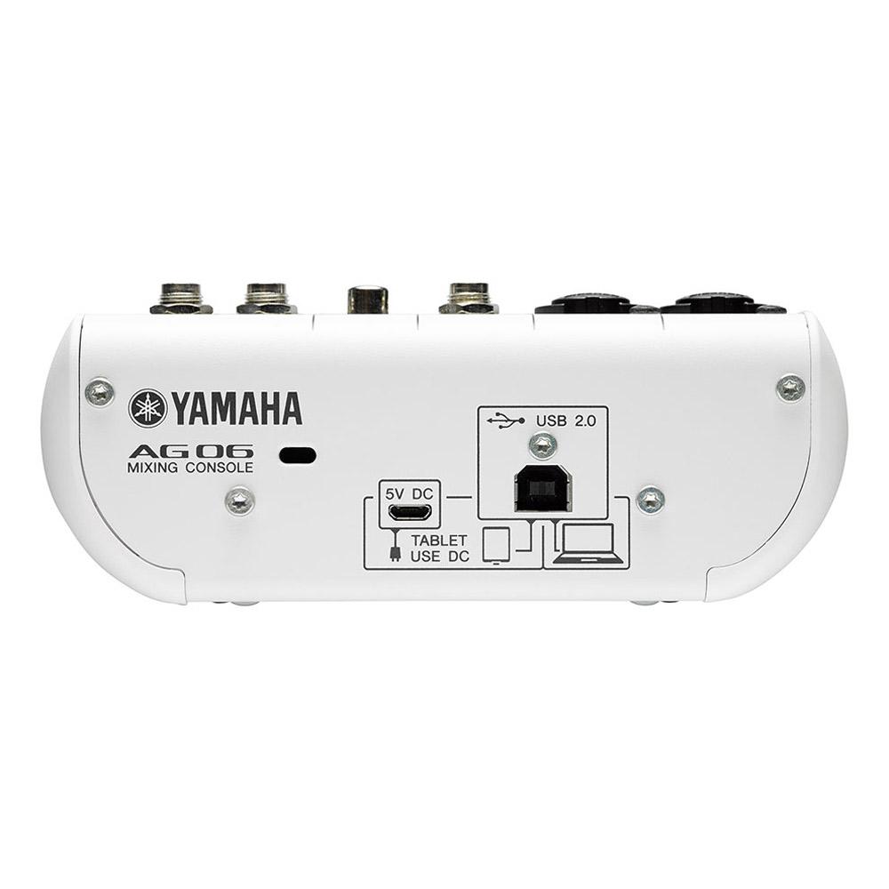 YAMAHA AG06 ウェブキャスティングミキサー 【ヤマハ】 【梅田ロフト店】 画像二