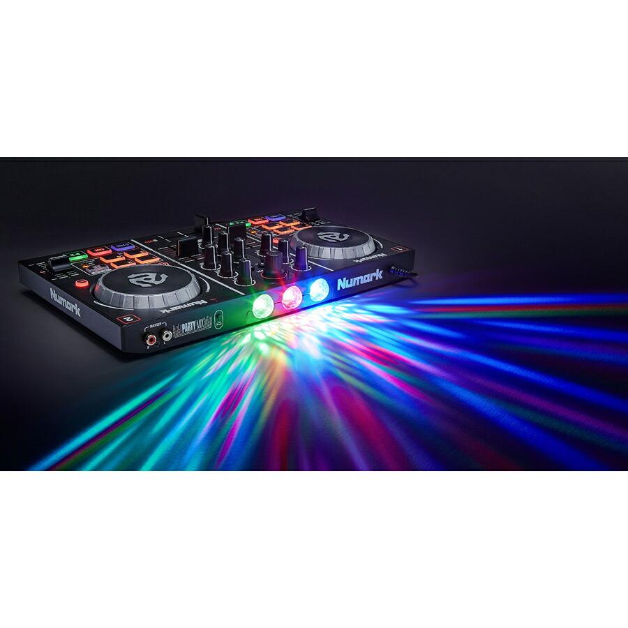 Numark Party Mix DJコントローラー 【ヌマーク】画像二