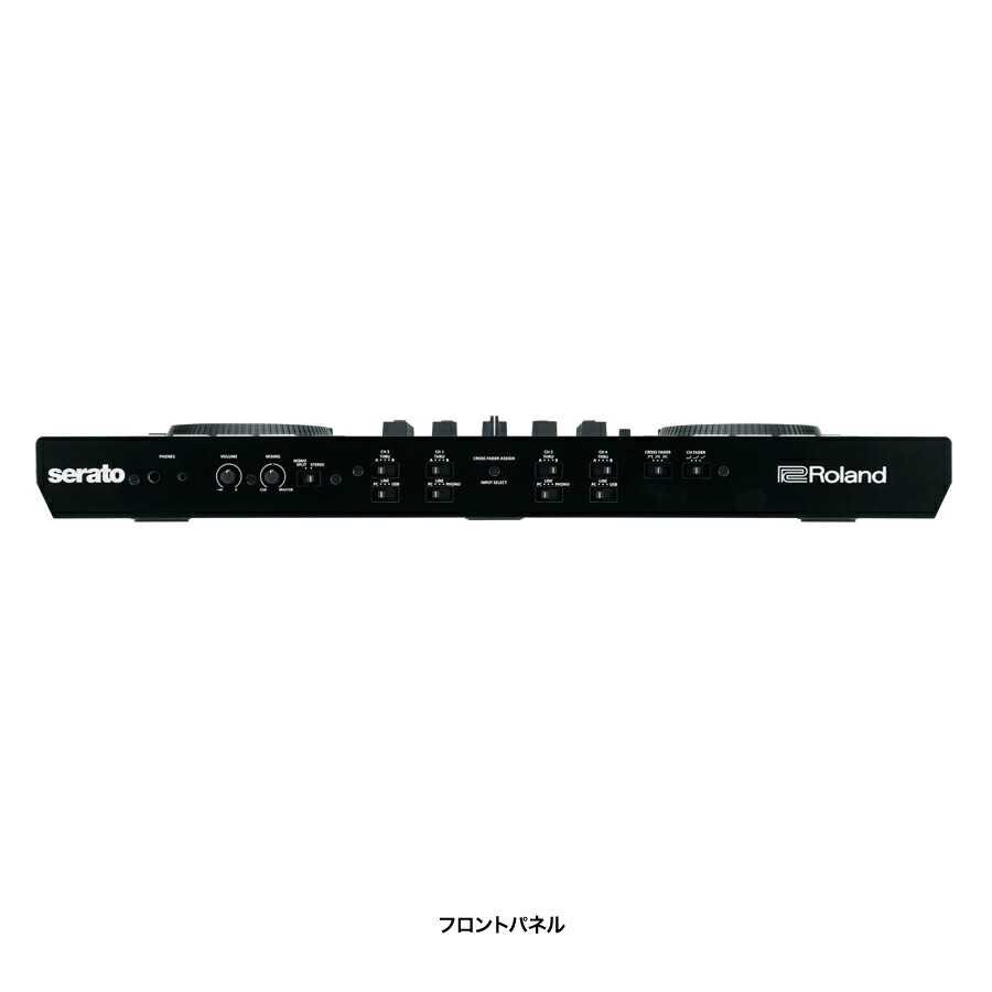 ROLAND DJ-808 DJコントローラー 【serato DJ対応】 【ローランド DJ808】 画像一
