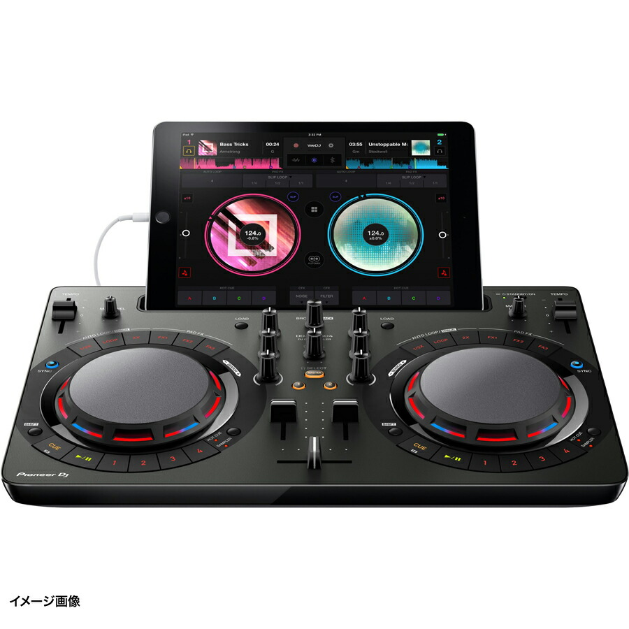 Pioneer DDJ-WeGO4-K (ブラック) DJコントローラー 【パイオニア DDJWeGO4K】 画像三