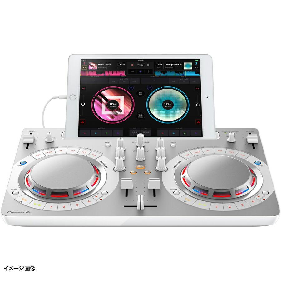 Pioneer DDJ-WeGO4-W (ホワイト) DJコントローラー 【パイオニア DDJWeGO4W】 画像三