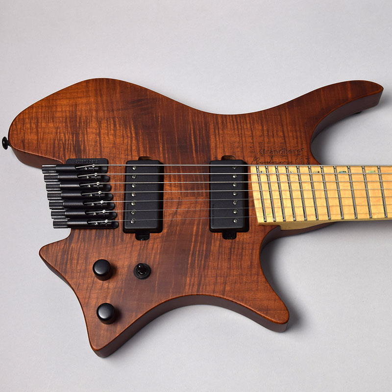 Boden OS CL7 Chris Letchford Signature/Brownボディトップ画像