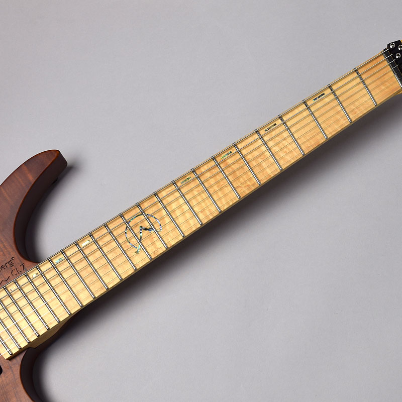 Boden OS CL7 Chris Letchford Signature/Brownヘッド・指板画像