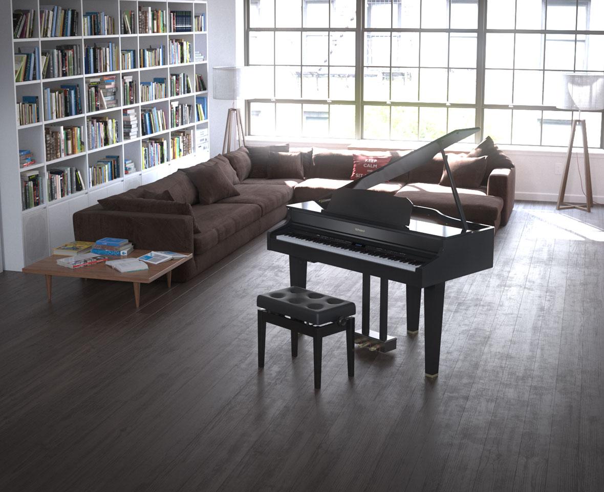 デジタルミニグランドピアノ