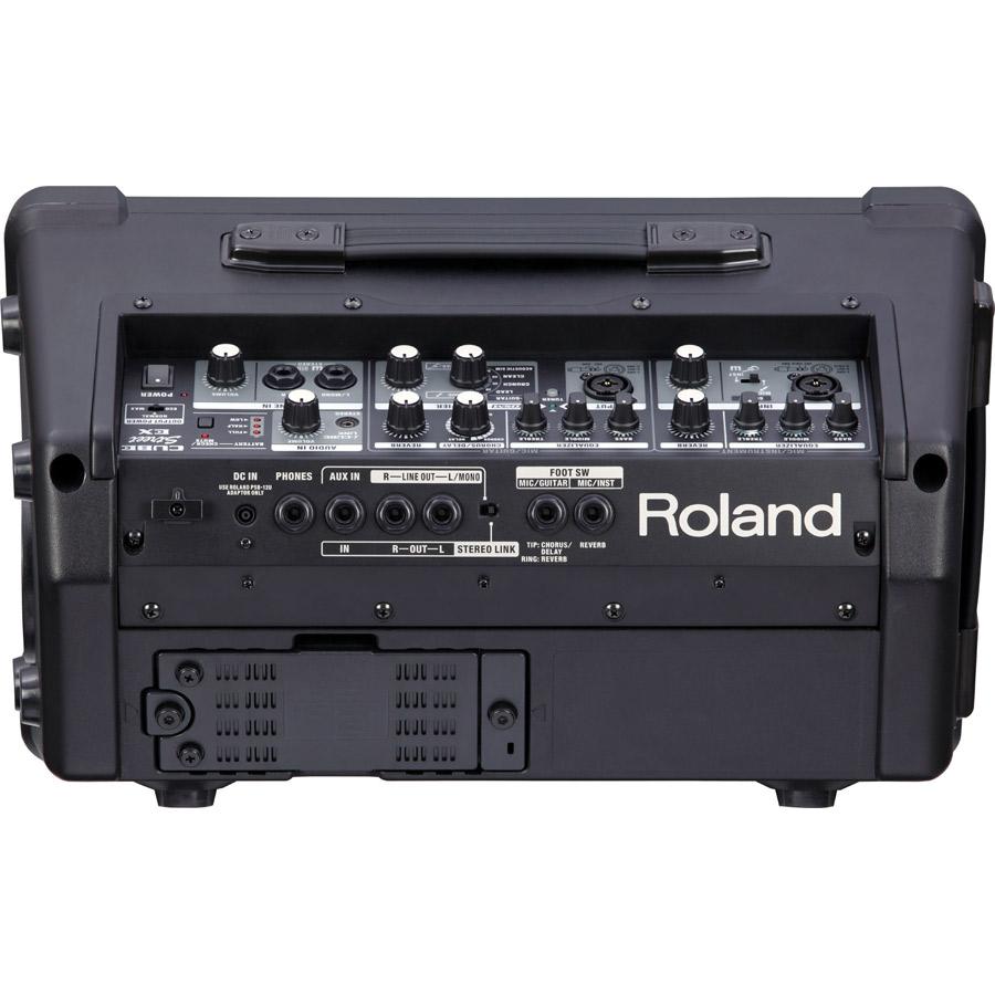 Roland 路上ライブ向け簡易PAセット 【アンプ CUBE Street EX + ダイナミックマイク audio-technica PRO31】 キャリーカート付き 【ローランド】 画像二