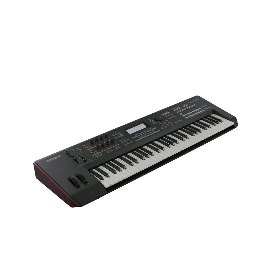 YAMAHA MOXF6 シンセサイザー 61鍵盤 ベーシックセット (スタンド + ケース + ペダル) 初心者セット 【ヤマハ】 画像二