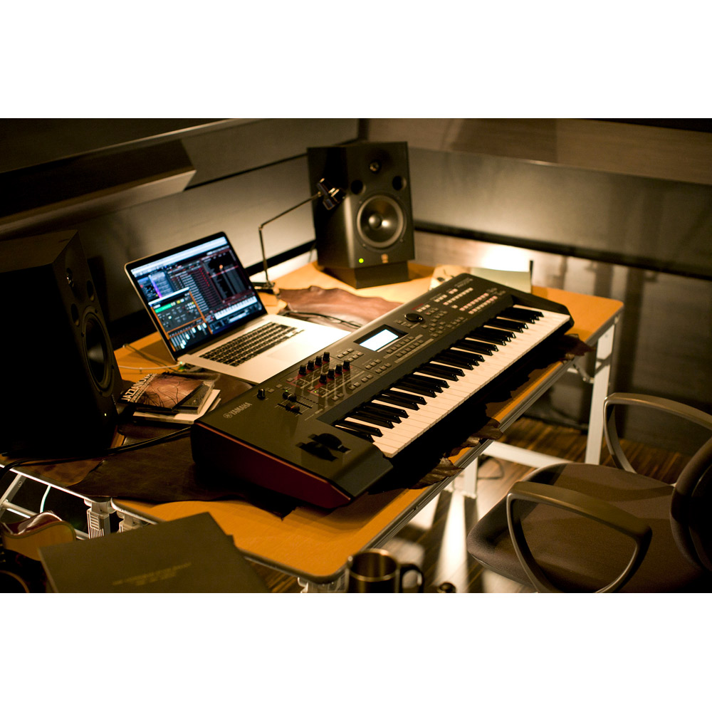 YAMAHA MOXF6 シンセサイザー 61鍵盤 ベーシックセット (スタンド + ケース + ペダル) 初心者セット 【ヤマハ】 画像三