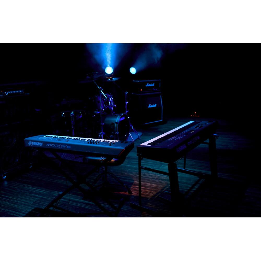 YAMAHA MOXF6 シンセサイザー 61鍵盤 ベーシックセット (スタンド + ケース + ペダル) 初心者セット 【ヤマハ】 画像五