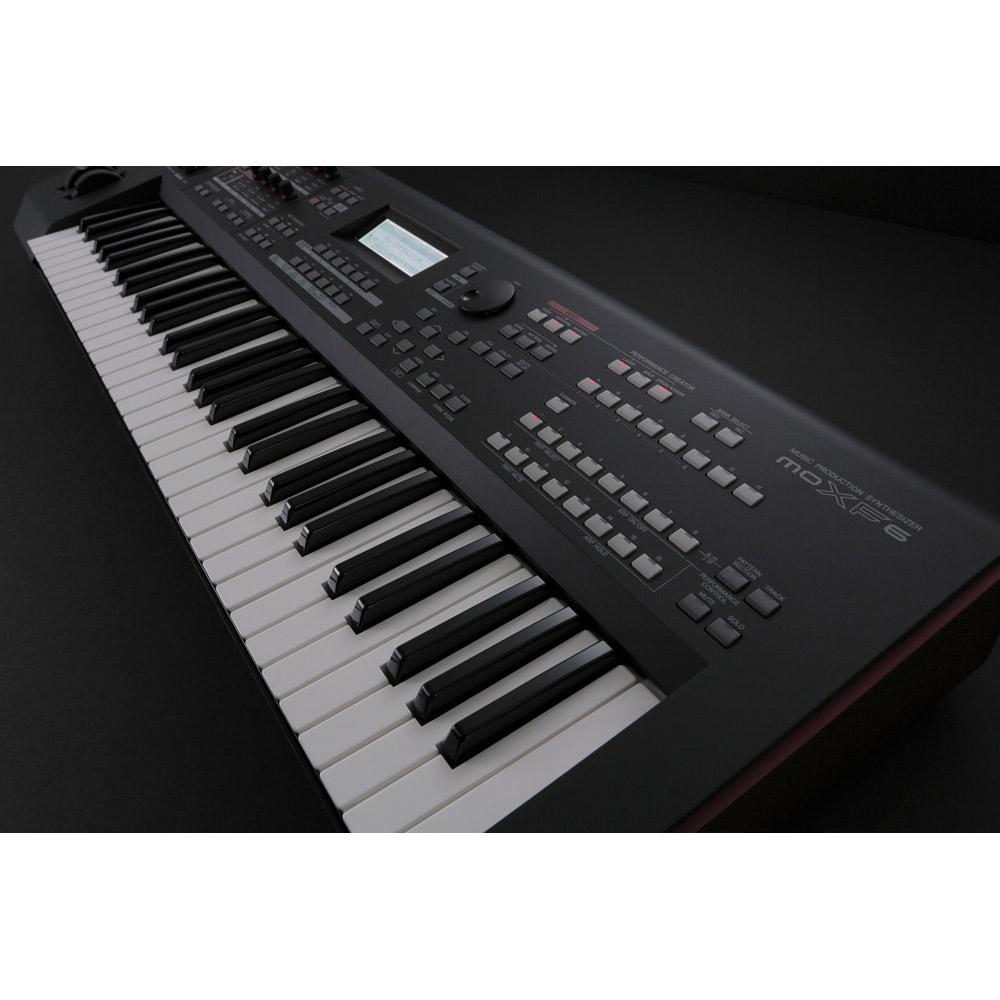 YAMAHA MOXF6 シンセサイザー 61鍵盤 ベーシックセット (スタンド + ケース + ペダル) 初心者セット 【ヤマハ】 画像七