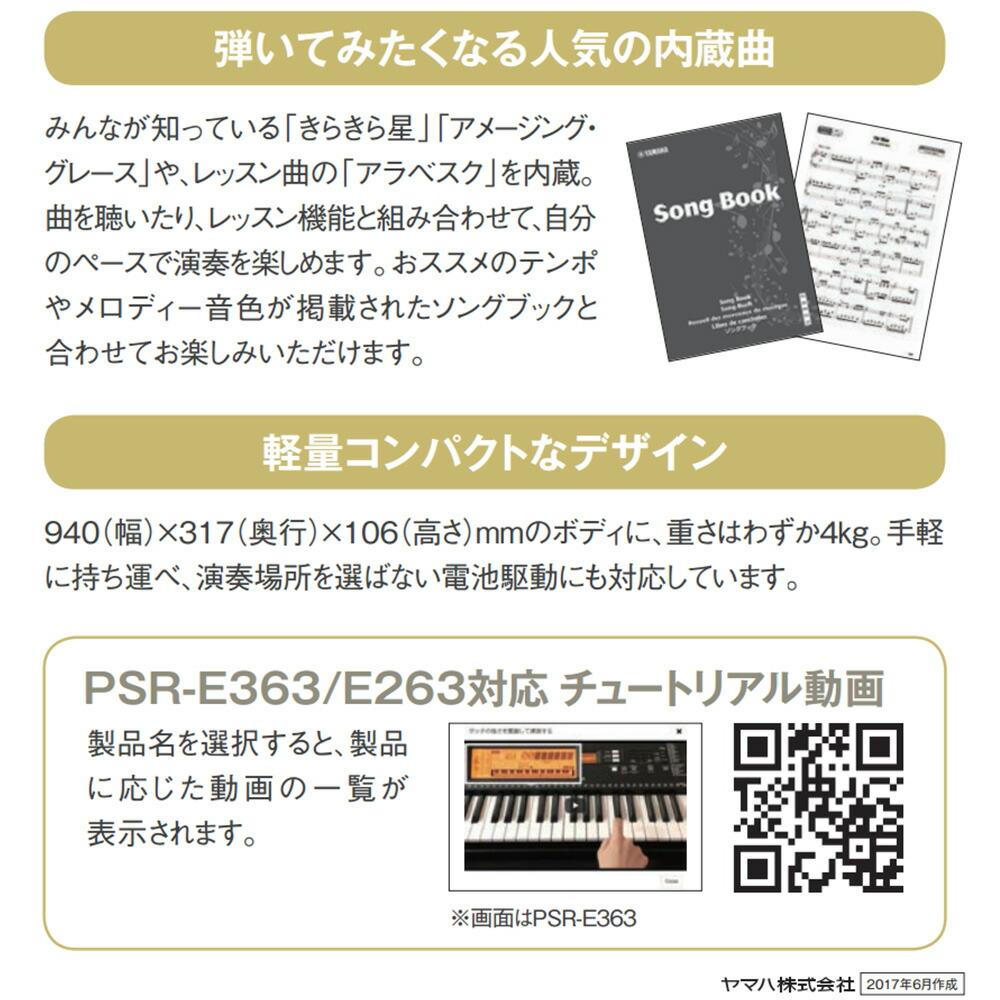 PSR-E263 スタンドセット-3