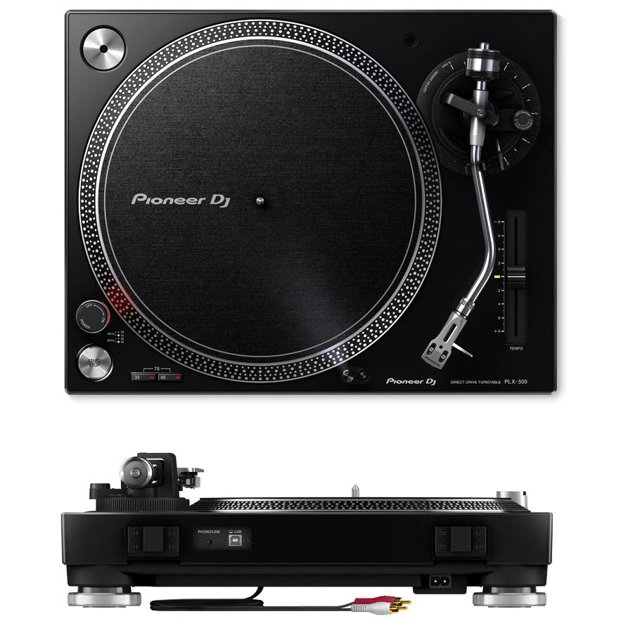 PLX-500-K + DJM-250MK2 + DM-40-B + HDJ-X5-K アナログDJスピーカーセット-1
