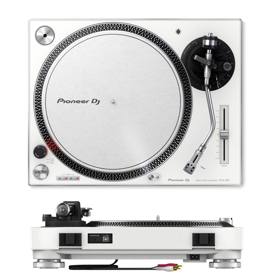 PLX-500-W + DJM-250MK2 + DM-40-W  + HDJ-X5-K アナログDJスピーカーセット-1