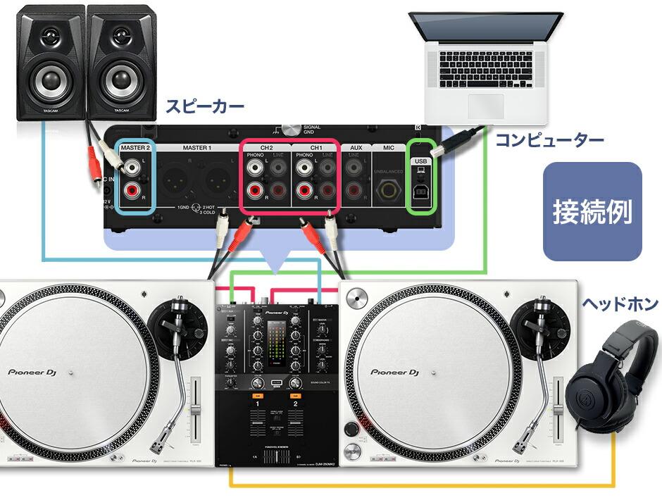 PLX-500-W DVSセット[ターンテーブル(×2)+ミキサー+ヘッドホン+コントロールヴァイナル+スピーカー+PCスンタド] 関連画像