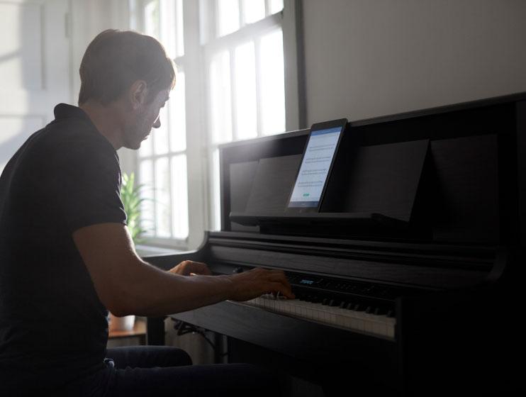 LX706 DRS 電子ピアノ 88鍵盤 ベージュカーペット(小)セット 関連画像