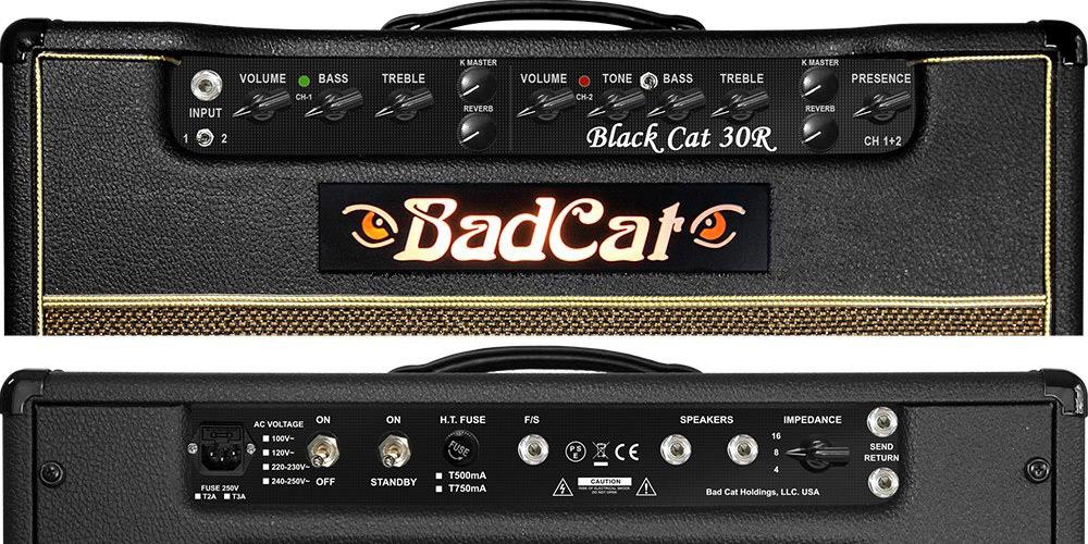 BlackCat30R 112ギターアンプ 30W 2017年モデル 関連画像