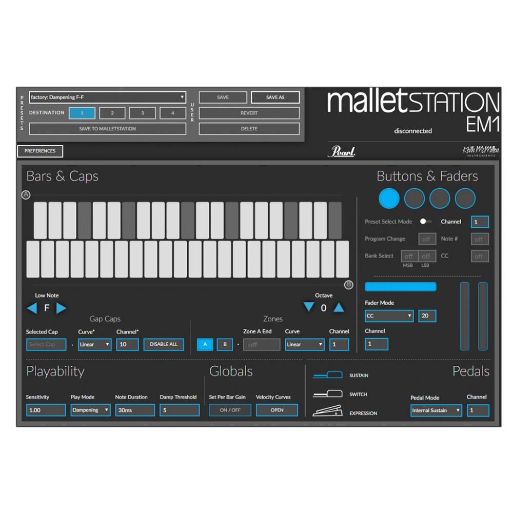 EM-1 Mallet StationMIDIコントローラー 関連画像