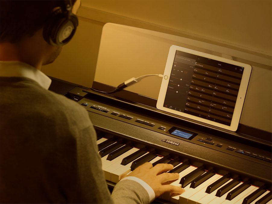 P-515 WH 専用スタンド・3本ペダル・高低自在イス・ヘッドホンセット 電子ピアノ 88鍵盤(木製)  関連画像